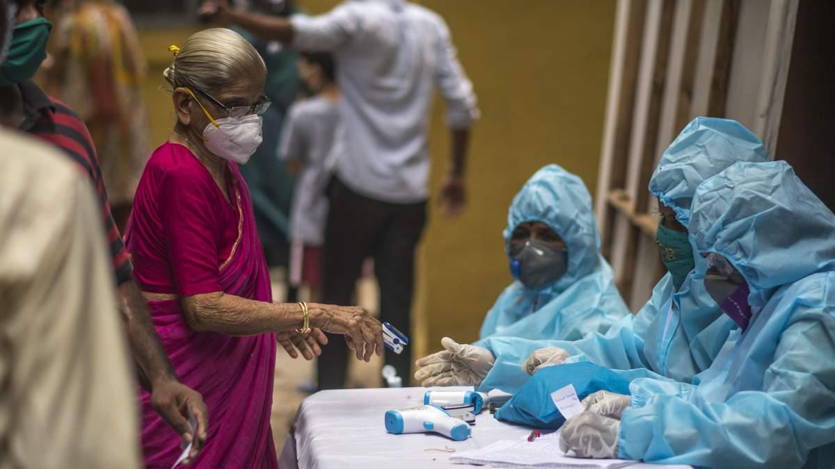 Індія вийшла на третє місце за кількість хворих на COVID-19