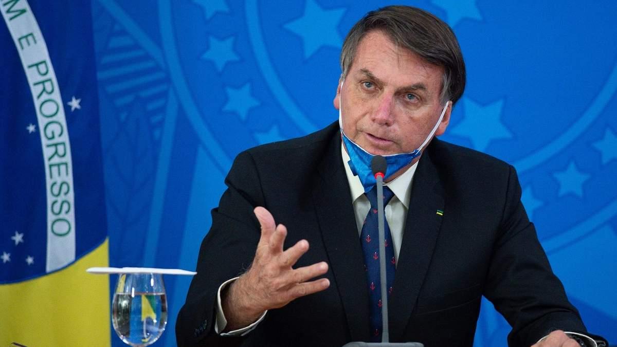 У президента Бразилии Болсонару обнаружили коронавирус