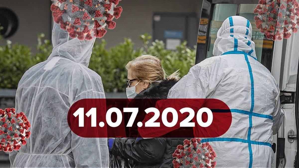 Коронавірус Україна, світ 11 липня 2020: статистика, новини