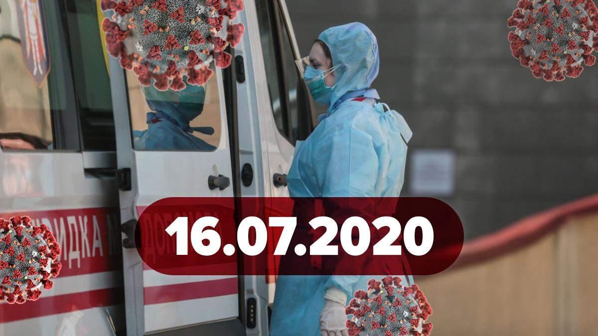 Новини про коронавірус 16 липня: припинення вакцинації у світі, знайшли ще один симптом COVID-19