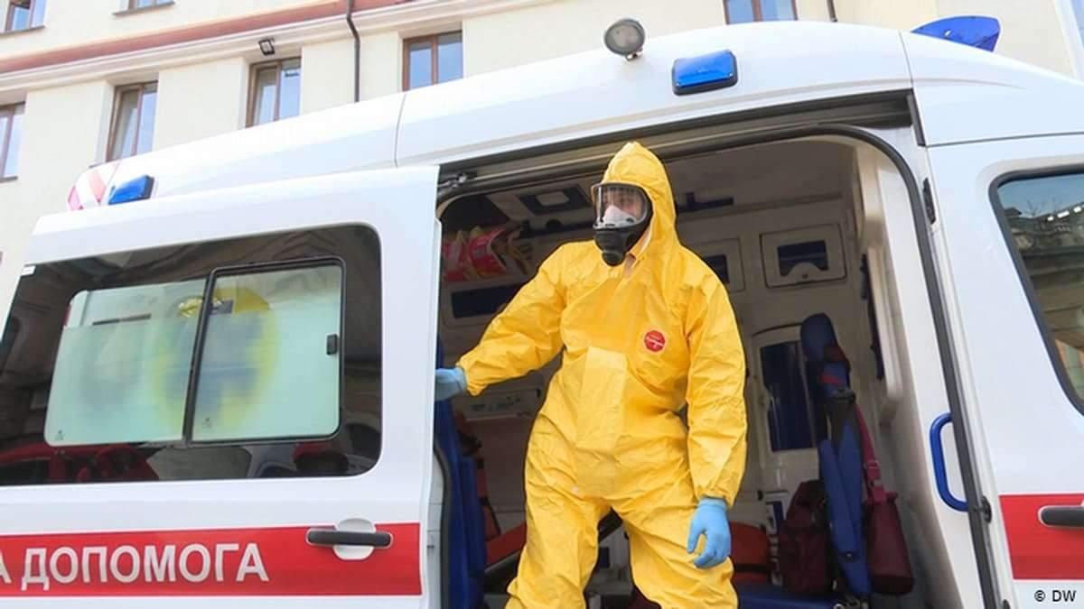 В Украине обнаружили 58 111 инфицированных коронавирусом