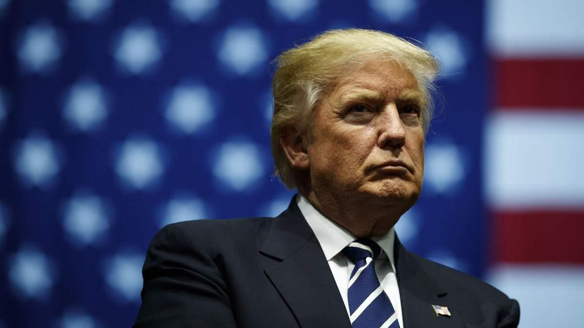 Дональд Трамп про носіння захисних масок