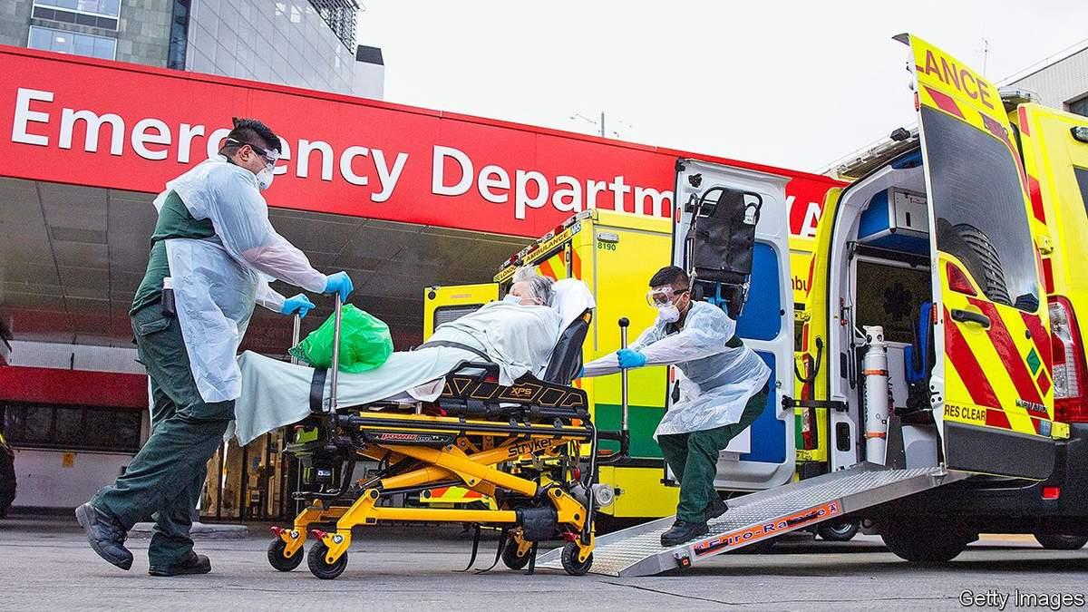 Велика Британія поки не публікуватиме статистику смертності від COVID-19 через помилки