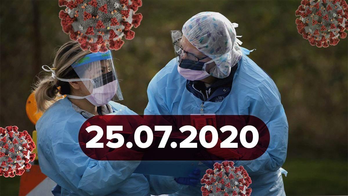 """Новини про коронавірус 25 липня: рекордна кількість хворих, інфікувався легенда """"Барселони"""""""