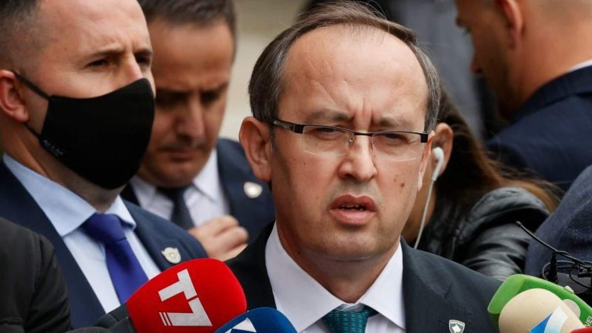 Прем'єр-міністр Косова Авдулла Хоті інфікувався коронавірусом