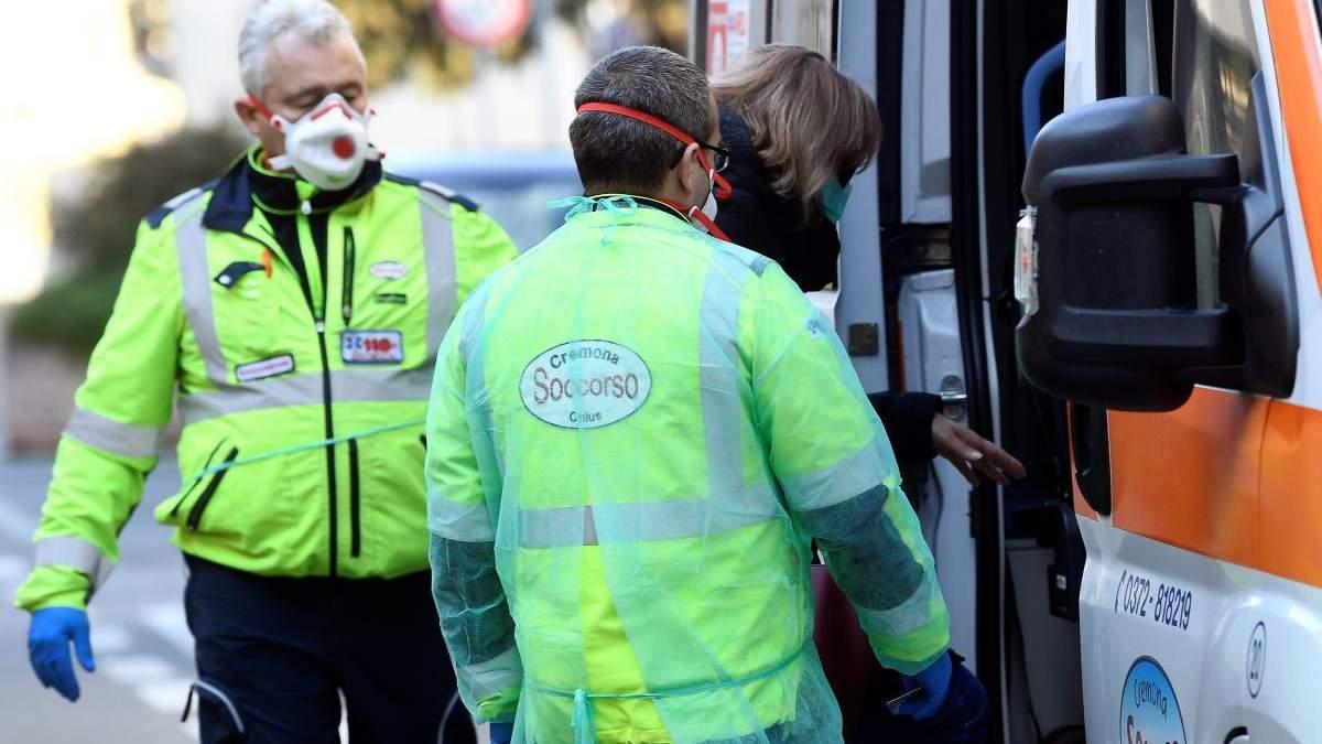 В Італії кількість випадків інфікування коронавірусом у 6 разів більша, ніж заявляли досі