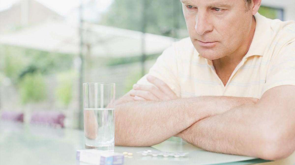 Імпотенція у чоловіків свідчить про ризик ранньої смерті