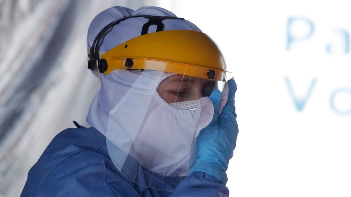 Прогноз распространения коронавируса в Украине