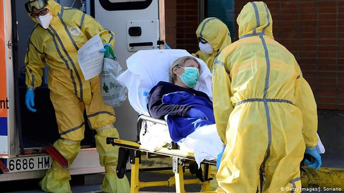 Хворих на коронавірус в Іспанії більшає