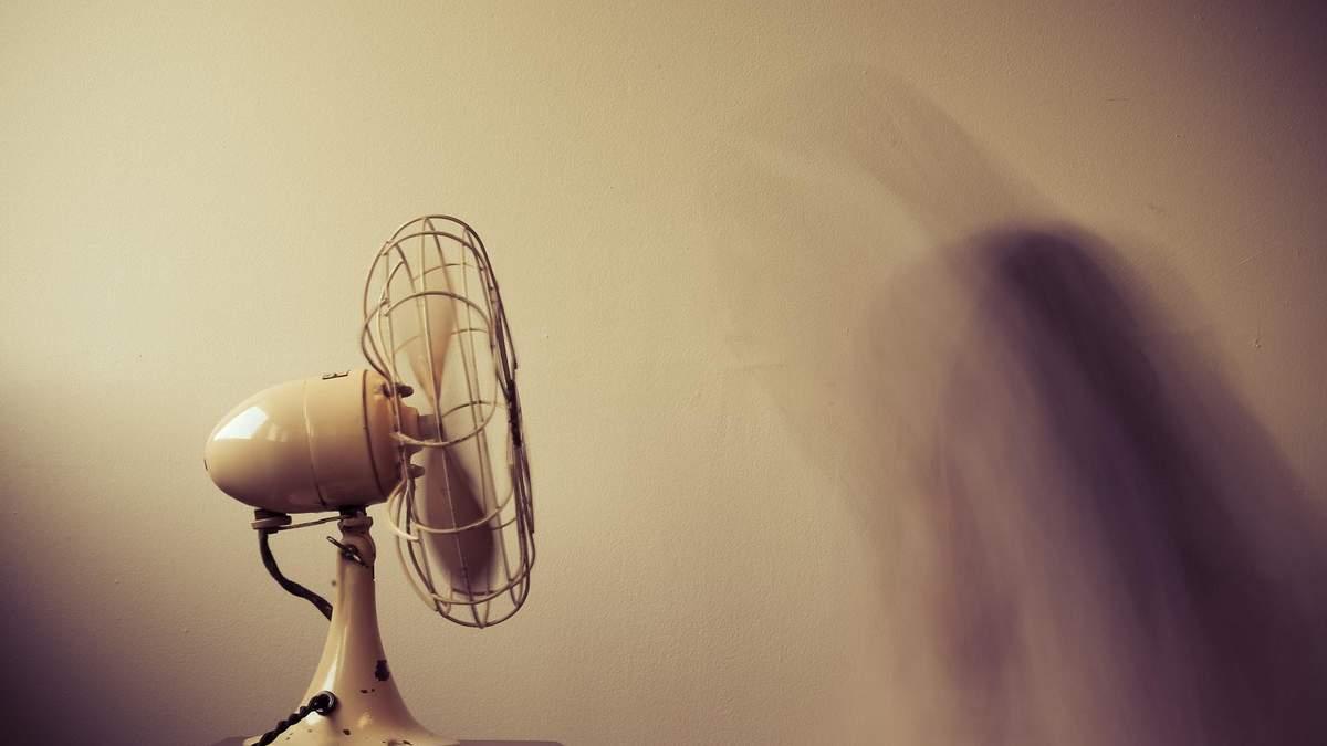 Вентилятор в жару