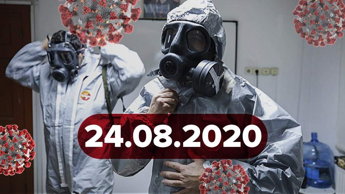 Новости о коронавирусе 24 августа: вспышка в Черновцах, 1799 новых больных в Украине