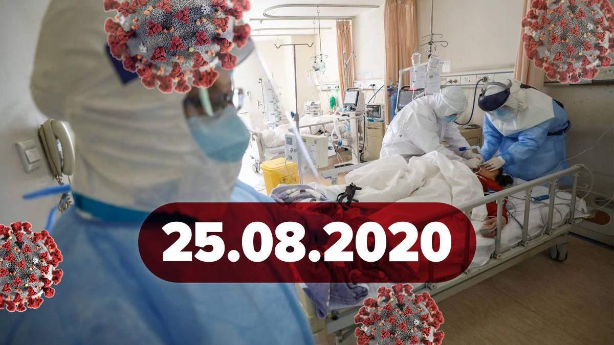 Коронавірус Україна, світ 25 серпня 2020: статистика, новини