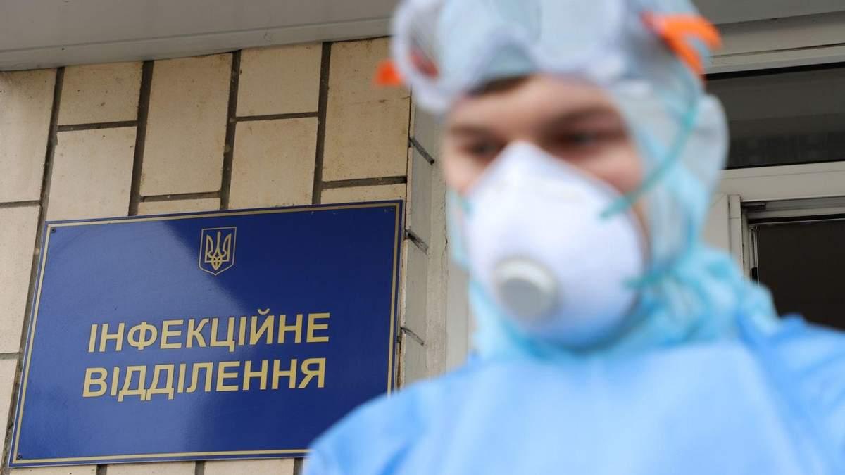 В Украине растет заболеваемость коронавирусом