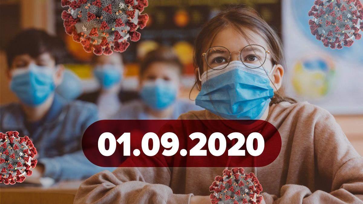 Коронавірус Україна, світ 1 вересня 2020: статистика, новини