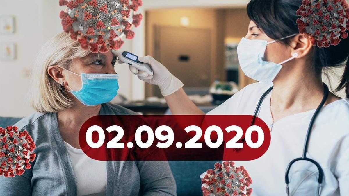 Новини про коронавірус 2 вересня: зміна умов виходу з самоізоляції, США висловили недовіру ВООЗ