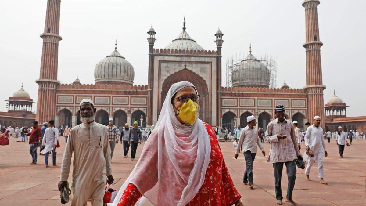 В Індії стрімко зросла кількість хворих на коронавірус