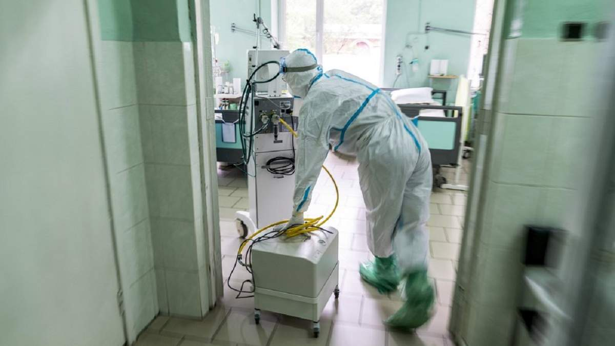 Ситуация с коронавирусом в больницах Франковска