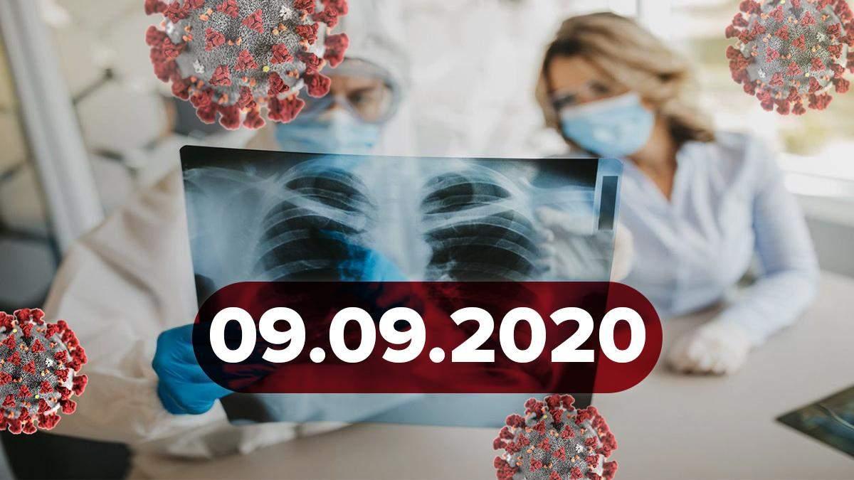 Новини про коронавірус 9 вересня: нові дані про вакцину та завантаженість українських лікарень