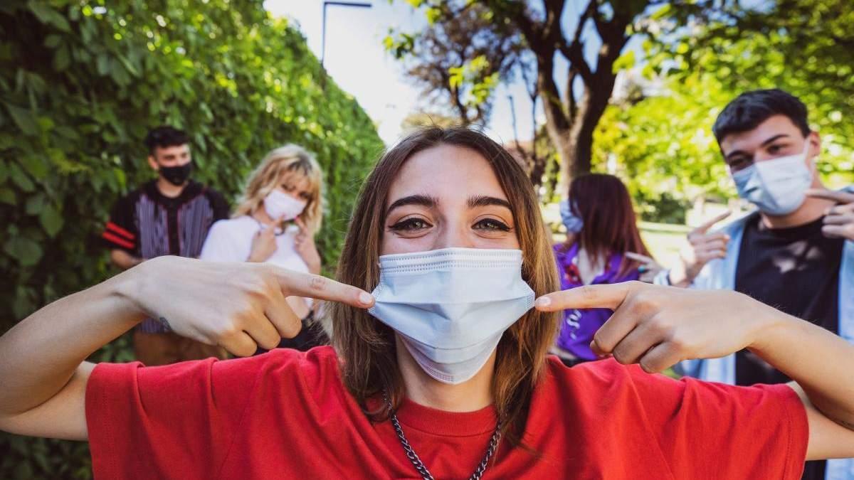 Еще одна польза ношения маски