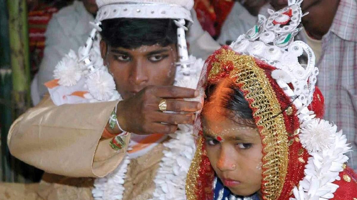 У світі зросла кількість дитячих шлюбів
