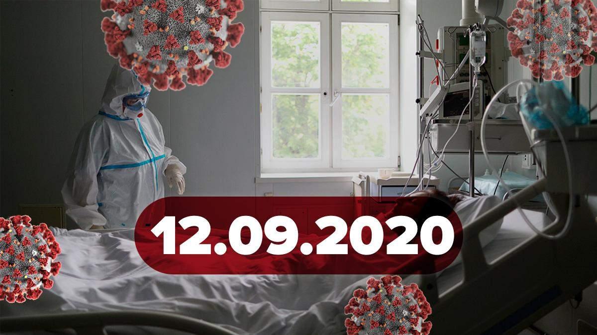 Коронавірус Україна, світ 12 вересня 2020: статистика, новини