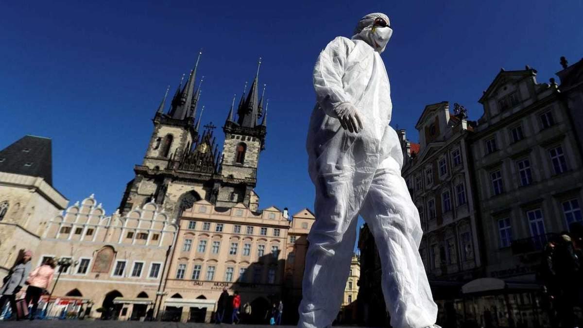 Коронавірус у Чехії