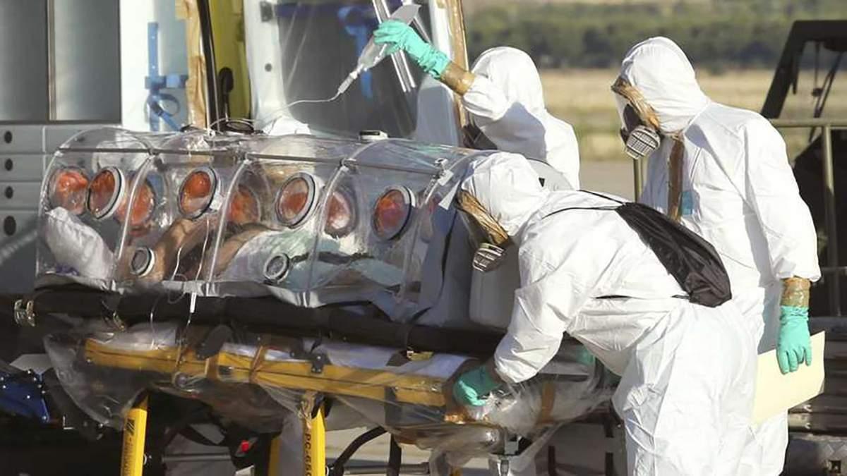 Вірус Ебола знову вирує в Африці