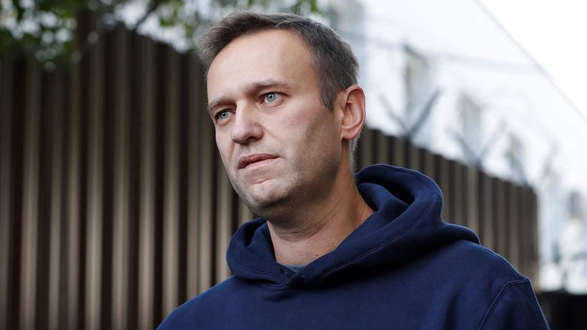 Пошук яду, яким отруїли Навального