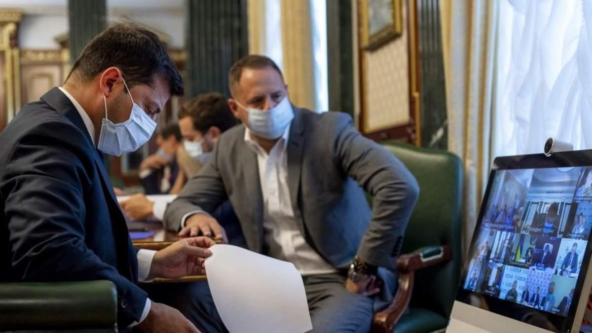 Питання створення лабораторії обговорили на слекторній нараді в президента