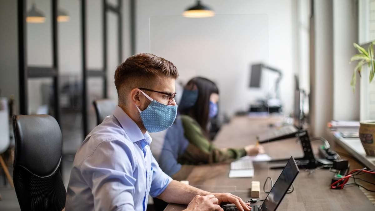 Що робити, якщо хтось в офісі заразився коронавірусом: рекомендації МОЗ