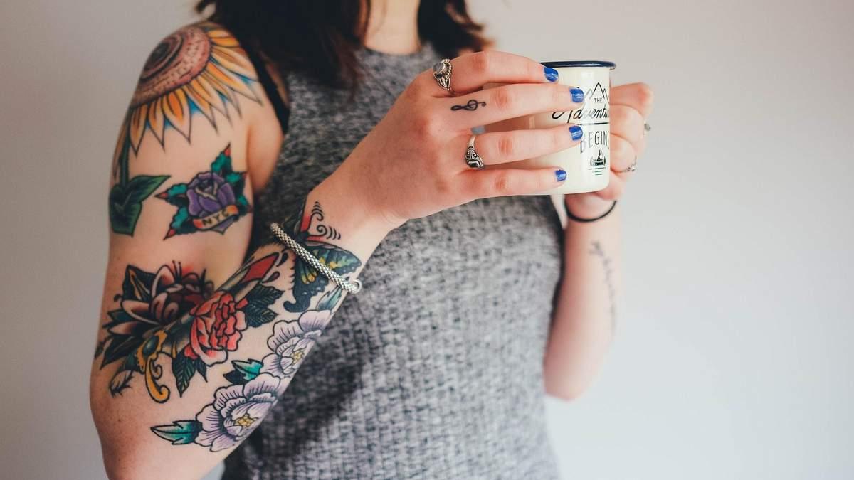 Вред татуировки