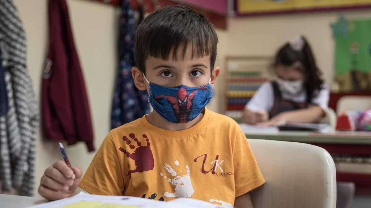 Коронавирус в школах Украины 2020