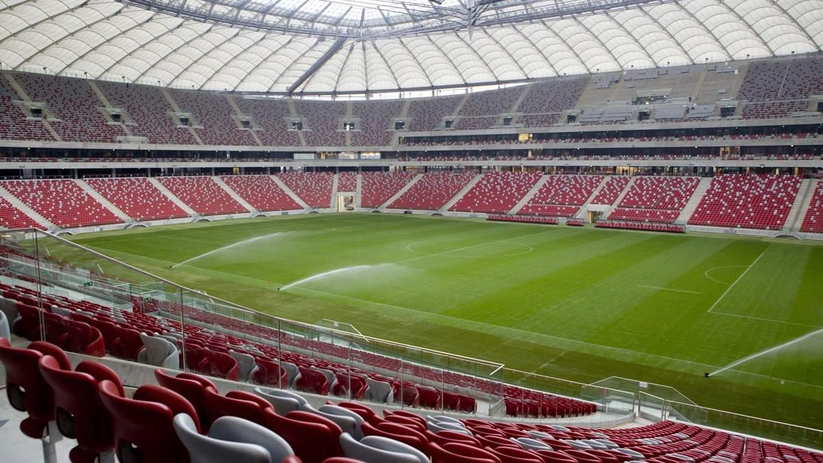 У Варшаві хворих на коронавірус розміщуватимуть на стадіоні, де проводили Євро-2012