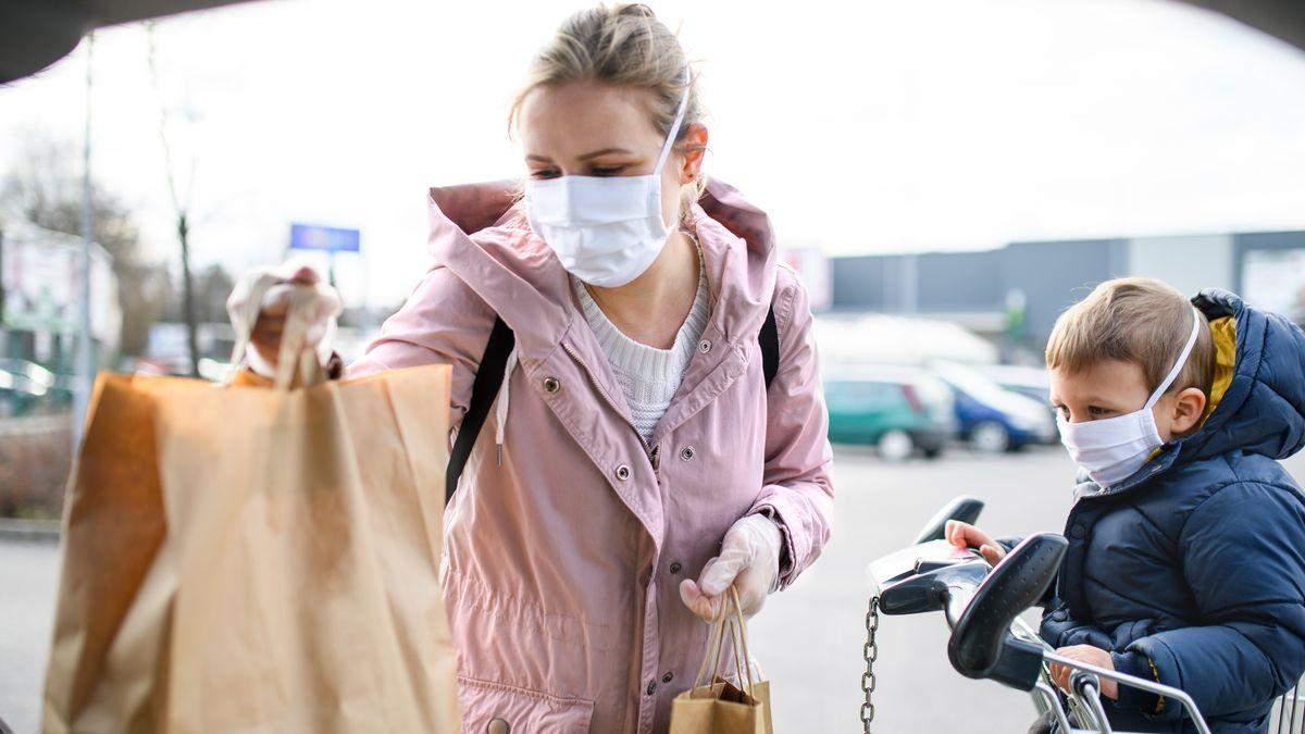 Захворюваність на коронавірус в Україні