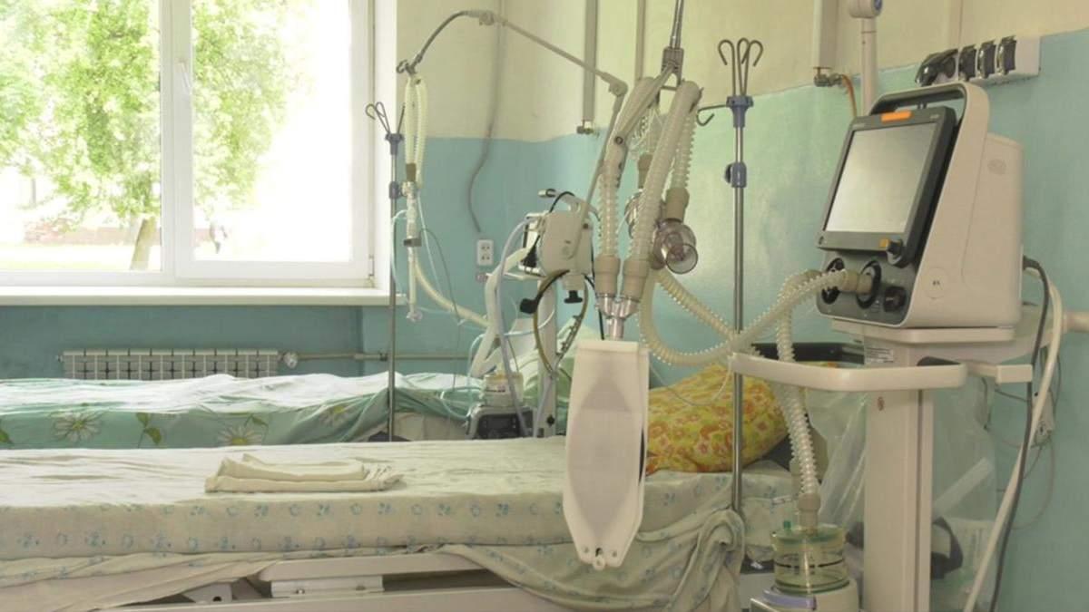 В Україні зайнято майже 70% лікарняних ліжок