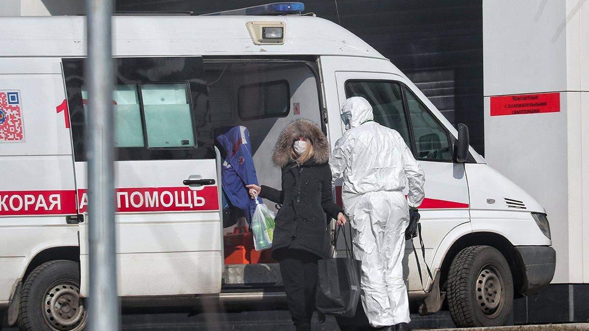 Коронавирус в РФ . Новый рекорд почислу заболевших