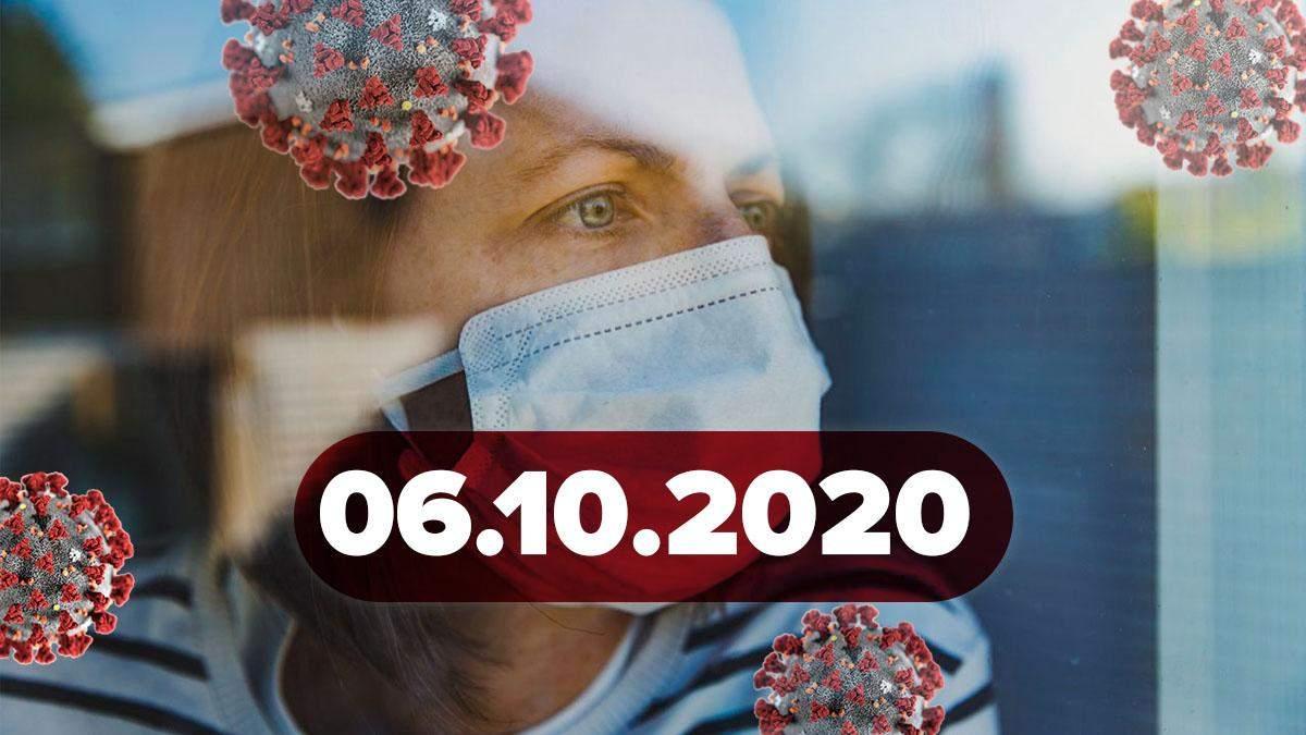 Коронавірус Україна, статистика 6 листопада 2020 – новини