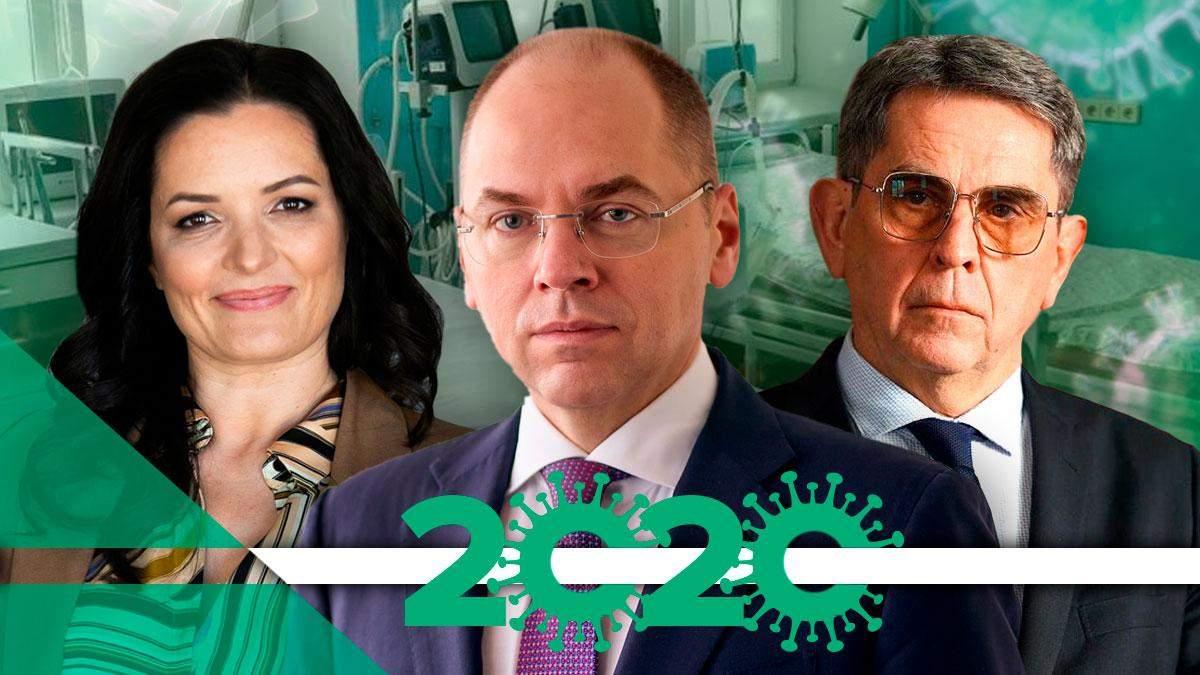 Провали Міністерства охорони здоров'я у 2020 році