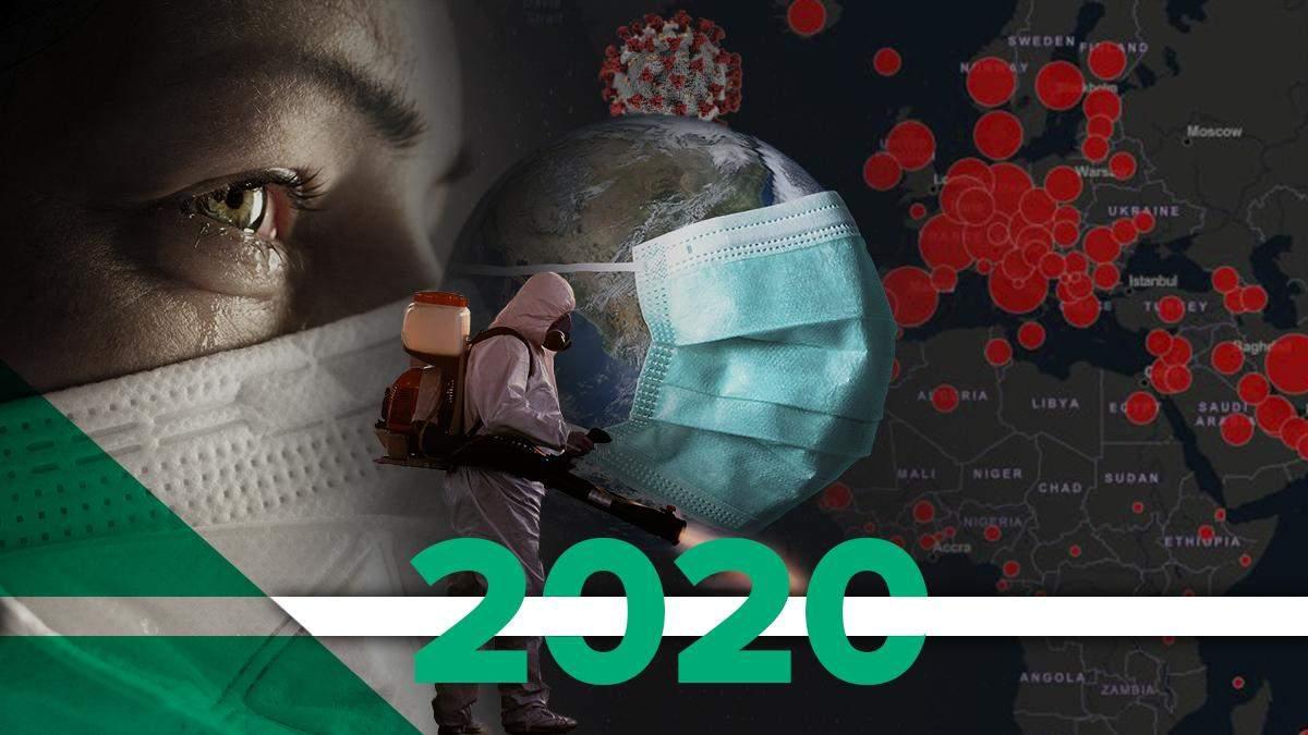 Як людство боролося з коронавірусом у 2020 році