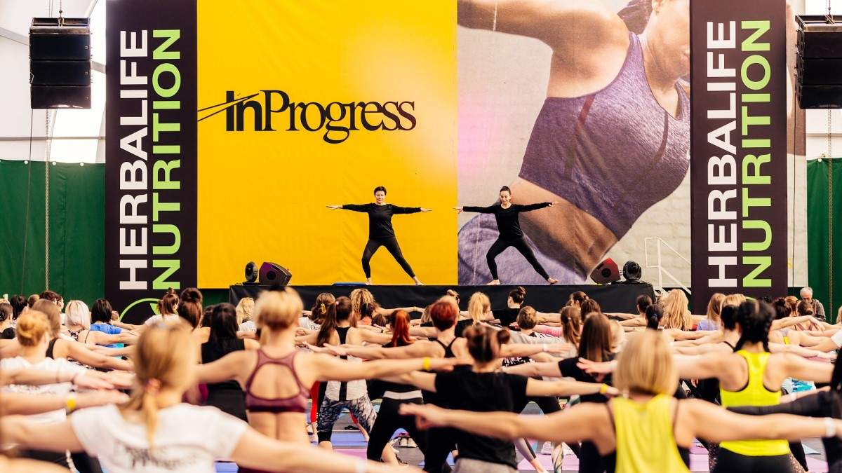Herbalife Nutrition & фитнес-конвенция Nike: формула здорового образа жизни