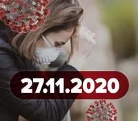 Новости о коронавирусе 27 ноября: рекорд в Украине, вероятные даты введения локдауна в стране