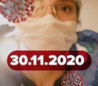 Новини про коронавірус 30 листопада: 100% результати вакцини Moderma, питання локдауну в Україні