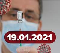 """Новини про коронавірус 19 січня: вакцинація """"Спутником"""" у Білорусі, інтерактивна мапа від МОЗ"""