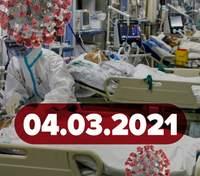 Новости о коронавирусе 4 марта: более 10 000 больных в Украине, когда будут вакцинировать детей