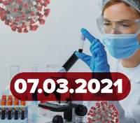 Новини про коронавірус 7 березня: міфи про вакцину, статистика