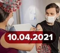 Новини про коронавірус 10 квітня: хто отримає Pfizer, нові дані про побічні реакції