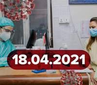 Новини про коронавірус 18 квітня: старт вакцинації Pfizer, побічні ефекти від Covishield