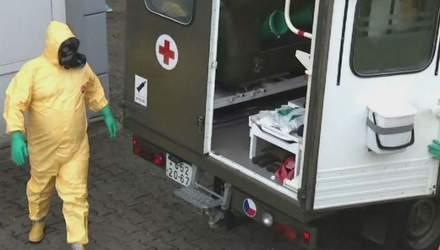 Чехія живе у передчутті наближення вірусу Еболи