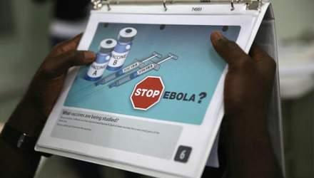 Британка захворіла на Еболу