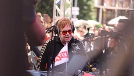 Елтон Джон у Києві: яскраві фото з благодійної акції